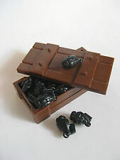 Custom FRAG GRENADE CRATE for LEGO Minifigures WWII Army Military 10 pcs + Crate