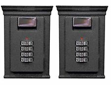 Secure-A-Key 6700W Select Access Key Storage Lock Box (Wall Mounted, 2 Pack)