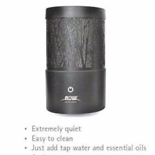 Now Foods Black Metal Touch Ultrasonic Essential Oil Diffuser Aromatherapy