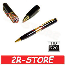 PENNA SPIA MICROCAMERA AUDIO VIDEO HD 720P SPY PEN MICROSPIA CIMICE VIDEOCAMERA