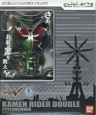 New Bandai chibi-arts Masked Kamen Rider W Cyclone Joker Painted