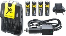 ULTRA HI 4AA BATTERY + AC/DC CHARGER FOR CANON POWERSHOT A640