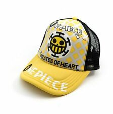 COSPLAY One Piece Trafalgar Law logo Exquisite Anime Hat Cap Leisure caps charm