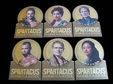 2012 SPARTACUS TRADING CARDS GODS OF THE ARENA DIECUT GOLD MEDAL  6 CARD SUBSET