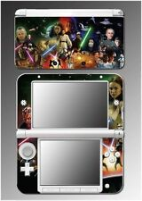 Star Wars Luke Skywalker Jedi Darth Vader Yoda Game Skin 2 for Nintendo 3DS XL