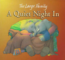 A Quiet Night in (The Large Family) Jill Murphy Very Good Book