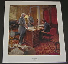 Mort Kunstler - White House Strategy  - Collectible Civil War Print