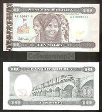 Eritrea 10 Nakfa 1997 Unc pn 3