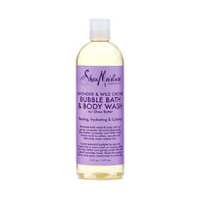 Shea Moisture Lavender & Wild Orchid Bubble Bath & Body Wash Cleanser Gel 16oz