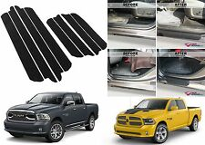 8pc Door Entry Scuff Guards For 2009-2016 Dodge Ram Crew Cab New Free Shipping
