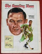 2-12-72 SPORTING NEWS MINNESOTA NORTH STARS TED HARRIS ON THE COVER NHL HOCKEY