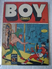 BOY COMICS #25 FN (6.0) GOLDEN AGE LEV GLEASON