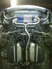 """Exoticspeed R1-T Exhaust Mazda RX8 2009-12 13B ROTARY 3"""" PIPING,4"""" TIPS CATBACK"""