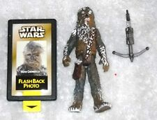 Chewbacca (Hoth) - Power of the Force with Flashback Photo - 100% complete
