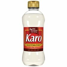 2 x KARO CORN SYRUP LIGHT ORIGINAL - 2 x 470ml KARO