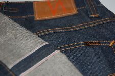 NEW SELVAGE NUDIE raw Jeans Denim Selvedge 29 x 27 dark regular ALF
