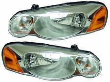 2004-2006 Chrysler Sebring Head Lights Lamps Driver & Passenger Side LH+RH