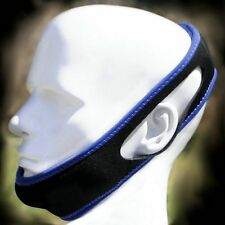 Sleep Easy Anti Snoring Chin Strap Jaw Support, Stop Apnea Snore Strap