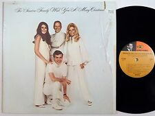 THE SINATRA FAMILY Wish You A Merry Christmas REPRISE LP frank nancy