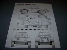 VINTAGE..T17E1 STAGHOUND I ARMORED CAR    .. 4-VIEWS/DETAILS..RARE! (889G)