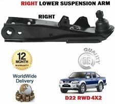 FOR NISSAN NP300 + D22 PICKUP 2.5TD  1998-- NEW RIGHT SIDE LOWER SUSPENSION ARMS
