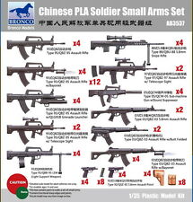 BRONCO AB3537 1/35 Chinese PLA Soldier Small Arms Set