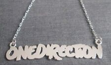 NEW Silver Plated One Direction Necklace - REDUCED - Great Gift