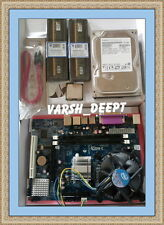 INTEL 945/G31 MOTHERBOARD+C2D2.66CPU+2GB DDR2 RAM+FAN+500 GB SATA HARD COMBO
