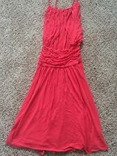 WOMENS BCBG MAXAZRIA CORAL SLEEVELESS DRESS SZ X-SMALL