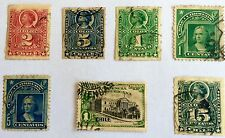 ANTIQUE RARE COLLECTIBLE AMAZING SET OF CHILE LATIN AMERICA POSTAGE STAMPS