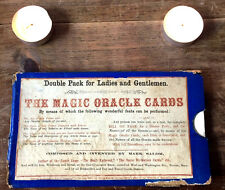 Rare Antique Magic Oracle Cards c1864 Haunted Divination Over 150 Yrs Old