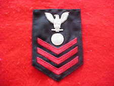 US Navy - Male Electrician's Mate 1st Class rating Crow Serge for Winter
