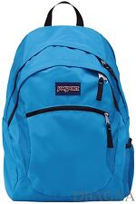 "NEW BIG JANSPORT WASABI BLUE 15"" LAPTOP COMPUTER STUDENT COLLEGE SCHOOL BACKPACK"