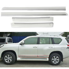 Body Door Molding Trim Protector For Toyota Land Cruiser Prado FJ150 2014-2016