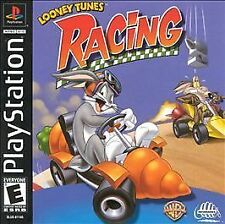 Looney Tunes Racing (PlayStation PS1) Daffy Duck, Marvin the Martian, & More!