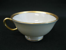 Lenox China Tuxedo J-33 Gold Backstamp~(1)~Footed Cup~1st Quality-Mint