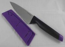 Tupperware D 190 Universal Serie Ergonomic Kochmesser Messer Lila Schwarz Neu