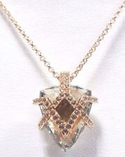 GOODWILL CRYSTAL PENDANT, SMALL, WHITE ROSE GOLD 2017 SWAROVSKI JEWELRY #5262248