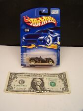 Hot Wheels Cadillac LMP - Black & Gold Flames - Collector # 208 - 2000