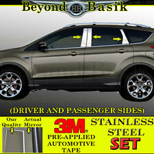 2013 2014 2015 2016 2017 Ford Escape 6pc STAINLESS STEEL Pillar Posts Overlays