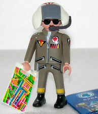 TOP GUN PILOT Playmobil FIGURES 4 BOYS 5284 zu JET Flugzeug USA Airforce - 836