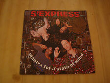 """S-EXPRESS -  MANTRA FOR A STATE OF MIND  (RHYTHM KING  7"""" )"""