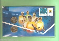 #C17.  PNC STAMPED COVER & $1 COINS - 2012 AUSTRALIAN TENNIS OPEN