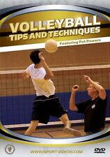 Volleyball Tips and Techniques DVD - Gold Medalist Pat Powers - Free Shipping