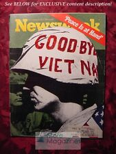 NEWSWEEK November 6 1972 Nov 72 11/6/72 ELECTION VIETNAM CEASE-FIRE