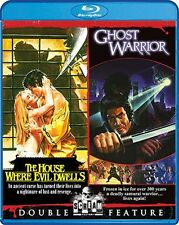 THE HOUSE WHERE EVIL DWELLS + GHOST WARRIOR New Sealed Blu-ray Double Feature
