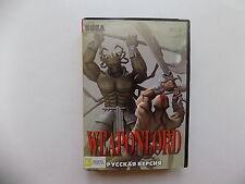 WEAPONLORD Sega Genesis Mega Drive.