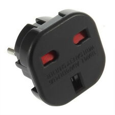 Universal UK to EU AC Power Travel Plug Adapter Socket Converter 10A/16A 240V F3