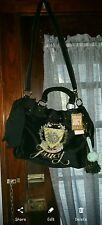 juicy couture purse bag tote large,  black bow daydreamer