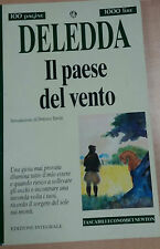 IL PAESE DEL VENTO - GRAZIA DELEDDA - NEWTON - 1995 - M